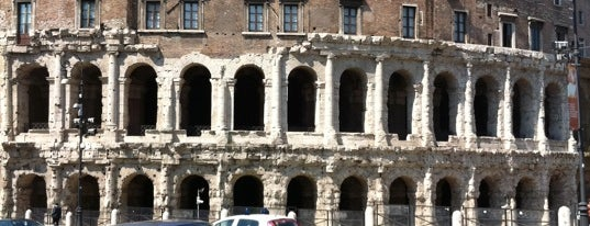Theatre of Marcellus is one of Da non perdere a Roma.