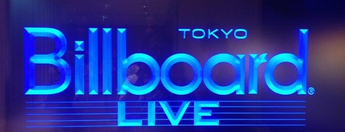 ビルボードライブ東京 is one of ライブハウス.