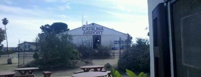 Catalina Airport (CIB) is one of World's Most Thrilling Airports.