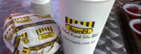 Ramly Burger Kopitiam is one of Makan Time..