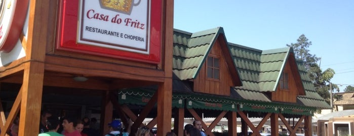 Casa do Fritz is one of Restaurantes.