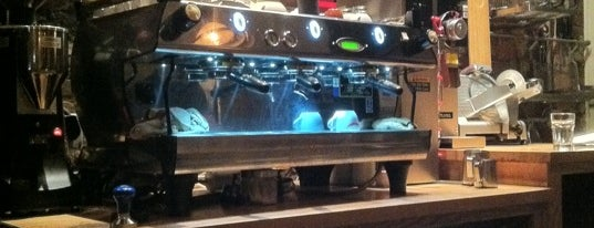 OST Cafe is one of NY Espresso.