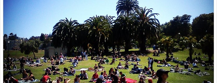 Mission Dolores Park is one of My favourite places in SF.