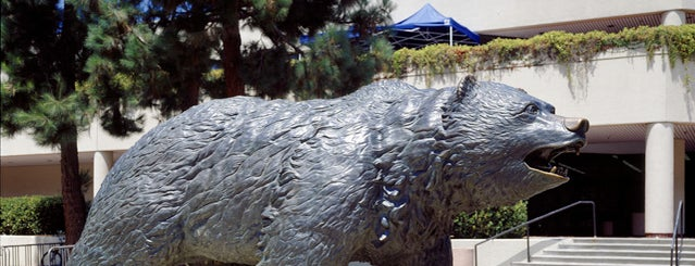 UCLA Bruin Statue is one of Explore the Campus.