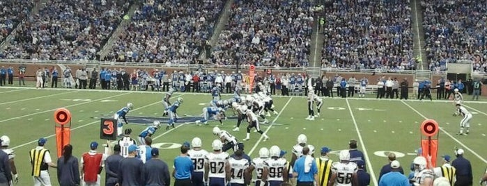 Ford Field is one of Detroit List #VisitUS.
