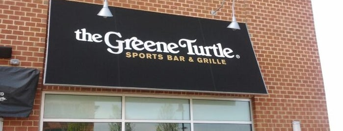 The Greene Turtle is one of Bars I've been to.