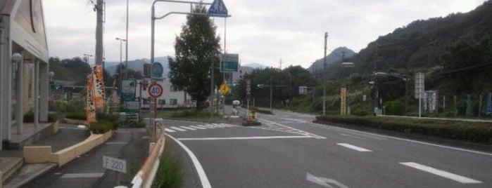 大月IC is one of 高速道路.