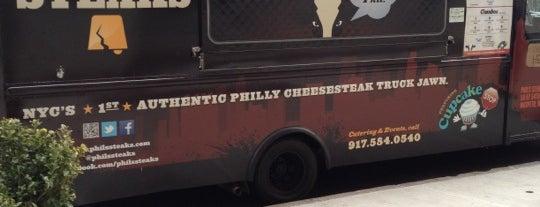 Phil's Steaks is one of NYC Food on Wheels.