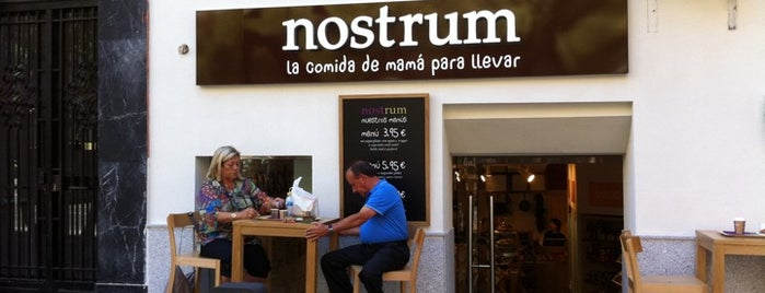 Nostrum is one of Bares y restaurantes slow, eco, bio..