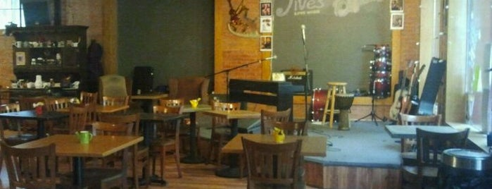 Jives Coffee Lounge is one of Colorado's Music Venues.
