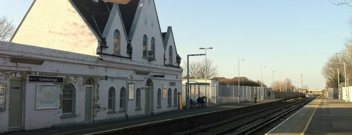 Queenborough Railway Station (QBR) is one of Train stations.