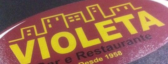 Violeta Bar & Restaurante is one of em Sampa.