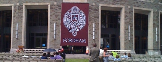 William D. Walsh Family Library is one of The Fordham University Experience.