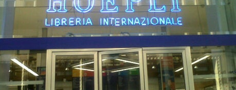 Libreria Internazionale Ulrico Hoepli is one of Best places in Milan.