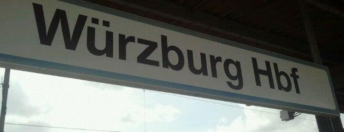 Würzburg Hauptbahnhof is one of Bahnhöfe DB.