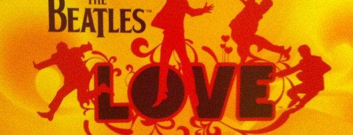 The Beatles LOVE (Cirque Du Soleil) is one of Cirque du Soleil Las Vegas.