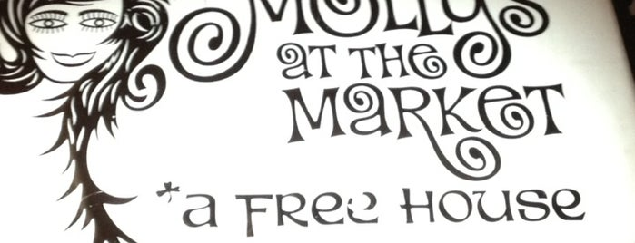 Molly's at the Market is one of New Orleans Bars.