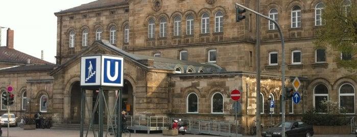 Fürth Hauptbahnhof is one of Bahnhöfe Deutschland.