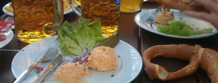 Hofbräukeller is one of Bars + Restaurants.