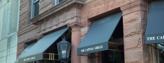 The Capital Grille is one of DC To Do - Eat.