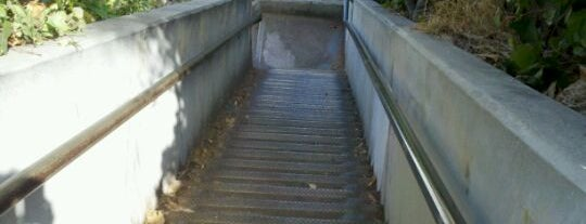 Santa Monica Stairs is one of LA's To do list.