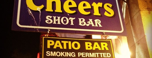 Cheers Shot Bar is one of AUS Faves and To Do.
