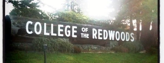 College Of The Redwoods is one of Favorites.