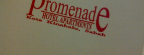 Promenade Service Apartment is one of @Sabah, Malaysia.