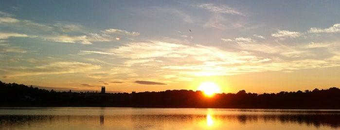 Chestnut Hill Reservoir is one of Boston.