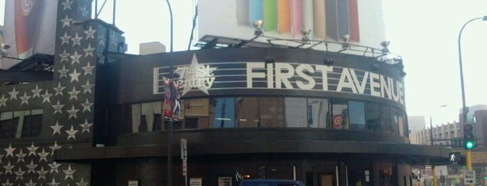 First Avenue & 7th St Entry is one of Minneapolis-St. Paul Concert Venues.