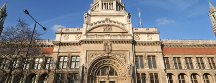 Victoria and Albert Museum (V&A) is one of London Museums and Galleries.