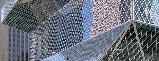 Seattle Central Library is one of Lost in Seattle.