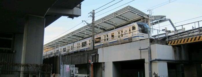 JR武蔵小杉駅 3-4番線ホーム is one of 武蔵小杉再開発地区.