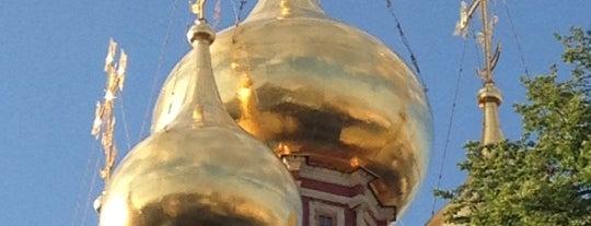 Храм Воскресения Христова в Кадашах is one of 100 примечательных зданий Москвы.