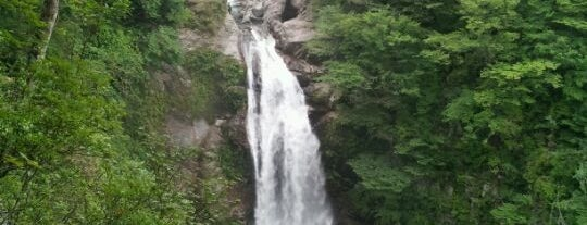 秋保大滝 is one of 日本の滝百選.