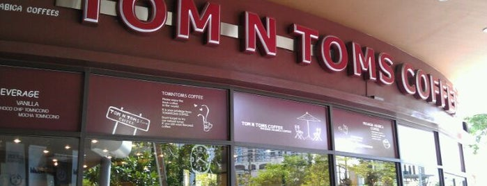 TOM N TOMS is one of Favorite Food.