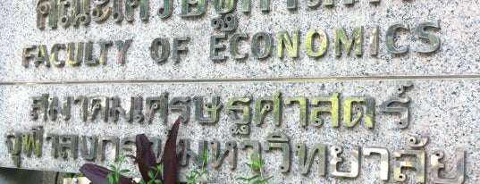 Faculty of Economics is one of Chulalongkorn University.