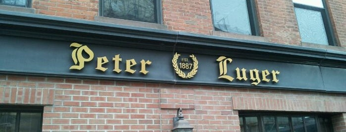 Peter Luger Steak House is one of NY Region Old-Timey Bars, Cafes, and Restaurants.