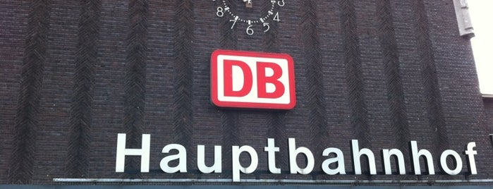 Duisburg Hauptbahnhof is one of Railway stations visited.