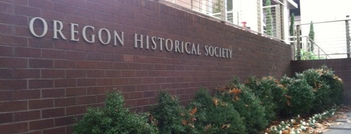 Oregon Historical Society is one of Exploring Portland, Oregon.