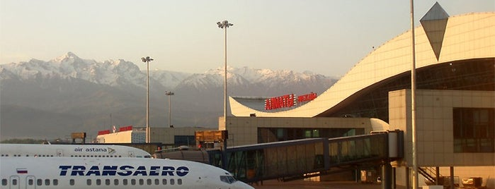Almaty International Airport (ALA) is one of World Airports.