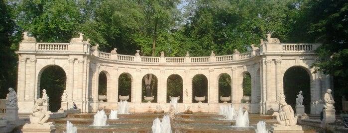 Märchenbrunnen is one of Berlin.