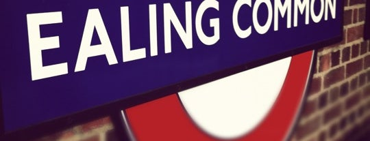 Ealing Common London Underground Station is one of Tube Challenge.