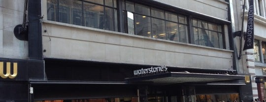Waterstones is one of My London.