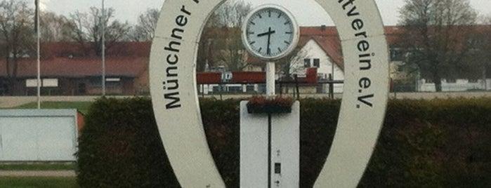 Trabrennbahn München is one of MUC Kultur & Freizeit.
