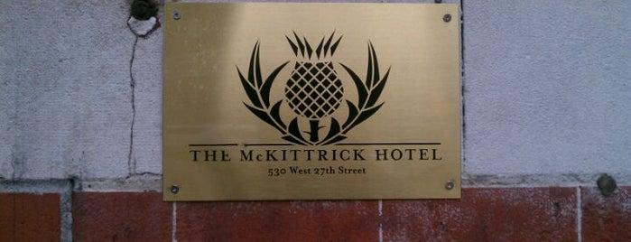 The McKittrick Hotel is one of Dan's New York.