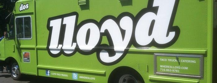 Lloyd Dos Taco Truck is one of Buffalo, NY Food Trucks.