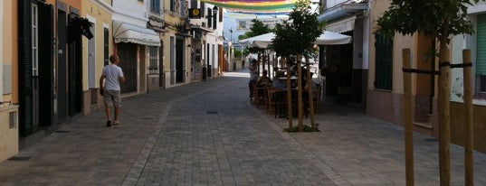 Es Mercadal is one of Menorca 7 days guide.