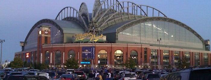 Miller Park is one of Ballparks Across Baseball.