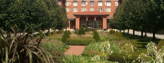 South Shore Cultural Center is one of Community Gardens in the Parks!.